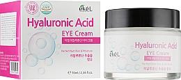 Voňavky, Parfémy, kozmetika Hydratačný krém na pokožku okolo očí, s kyselinou hyalurónovou - Ekel Hyaluronic Acid Eye Cream