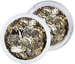 Voňavky, Parfémy, kozmetika Zlaté vločky na nechtový dizajn - MylaQ My Gold Flakes