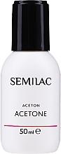 Voňavky, Parfémy, kozmetika Kozmetický acetón - Semilac Acetone