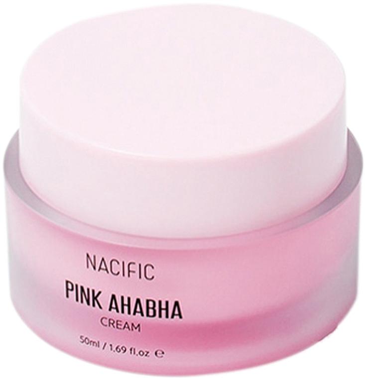 Krém na tvár s melónovým extraktom, kyselinami ANA a BHA - Nacific Pink AHA BHA Cream