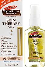 Voňavky, Parfémy, kozmetika Olej na starostlivosť o pokožku tváre a tela - Palmer's Cocoa Butter Skin Therapy Oil With Vitamin E