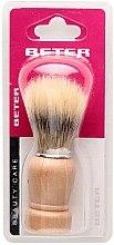 Voňavky, Parfémy, kozmetika Štetka na holenie s drevenou rukoväťou - Beter Beauty Care