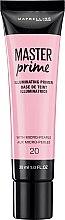 Voňavky, Parfémy, kozmetika Korekčný primer pod líčenie - Maybelline Master Prime 20 Illuminating
