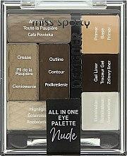 Voňavky, Parfémy, kozmetika Paleta na líčenie očí - Miss Sporty Designer All In One Eye Palette