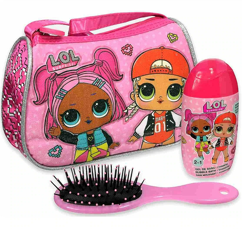 Air-Val International LOL Surprise - Sada (shmp/120ml + brush + bag) — Obrázky N3
