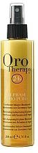 Voňavky, Parfémy, kozmetika Regeneračný dvojfázový kondicionér v spreji s keratínom - Fanola Oro Therapy