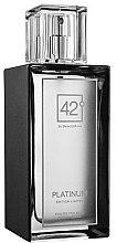 Voňavky, Parfémy, kozmetika 42° by Beauty More Platinum Edition Limitee - Toaletná voda