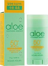Voňavky, Parfémy, kozmetika Ochranná opaľovacia tyčinka - Holika Holika Aloe Soothing Essence Water Drop Sun Stick SPF50+