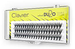 """Voňavky, Parfémy, kozmetika Falošné mihalnice """"Dvojitý objem"""", 10 mm - Clavier DU2O Double Volume"""
