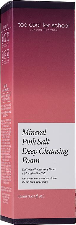 Čistiaca pena - Too Cool For School Mineral Pink Salt Deep Cleansing Foam — Obrázky N2