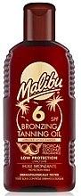 Voňavky, Parfémy, kozmetika Telový olej s účinkom bronzového opálenia - Malibu Bronzing Tanning Oil SPF 6