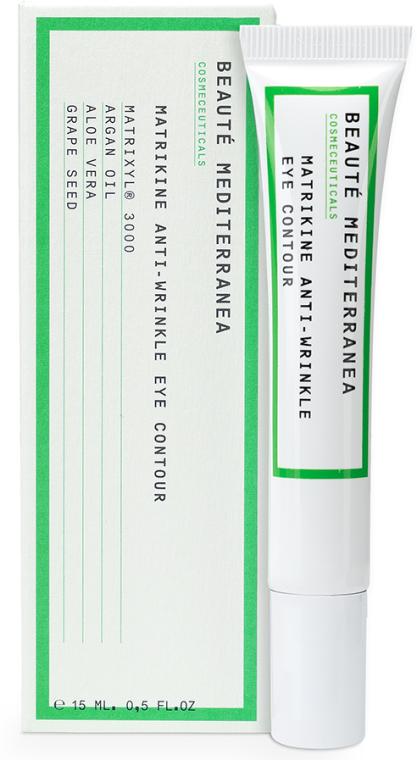 Peptidový krém proti starnutiu proti tmavým kruhom - Beaute Mediterranea Matrikine Anti-Wrinkle Eye Contour — Obrázky N1