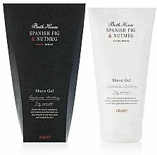 Voňavky, Parfémy, kozmetika Bath House Spanish Fig and Nutmeg - Gél na holenie