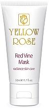 Voňavky, Parfémy, kozmetika Maska na tvár s polyfenolmi červeného hrozna (tuba) - Yellow Rose Red Vine Mask