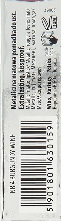 Tekutý rúž - Wibo Liquid Metal Lipstick — Obrázky N3