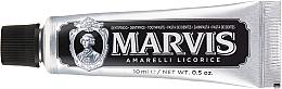 Voňavky, Parfémy, kozmetika Zubná pasta - Marvis Dentif Amarelli Licorice (mini)