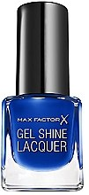 Voňavky, Parfémy, kozmetika Gél lak na nechty - Max Factor Gel Shine Lacquer