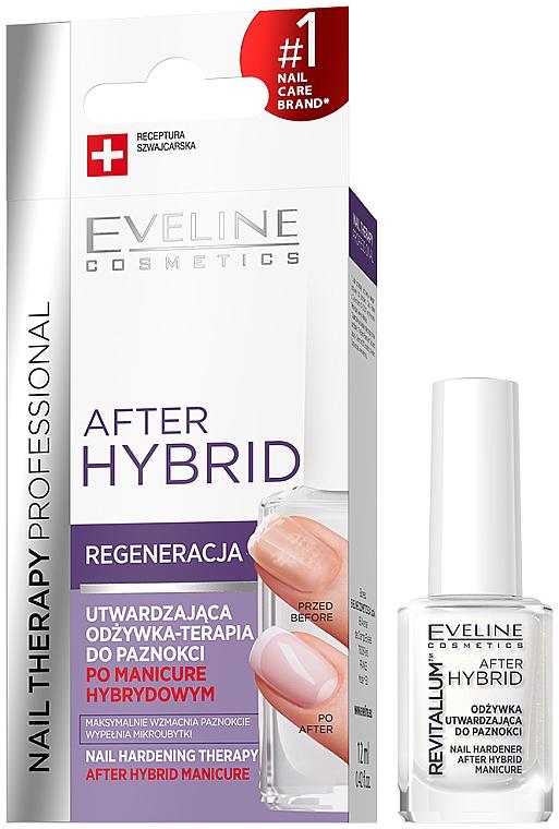 Spevňujúci kondicionér na nechty - Eveline Cosmetics After Hybrid Manicure