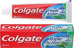 """Voňavky, Parfémy, kozmetika Zubná pasta """"Trojitá akcia"""" - Colgate Triple Action Original Mint"""