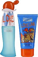 Voňavky, Parfémy, kozmetika Moschino I Love Love - Sada (edt/30ml + b/lot/50ml)
