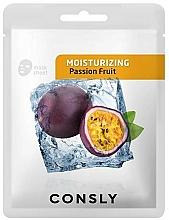 Voňavky, Parfémy, kozmetika Hydratačná látková maska na tvár s marakujovým extraktom  - Consly Moisturizing Mask Pack Passion Fruit