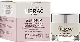 Voňavky, Parfémy, kozmetika Krém pre normálnu a kombinovanú pleť - Lierac Deridium Wrinkle Correction Moisturizing Cream