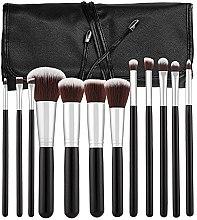 Voňavky, Parfémy, kozmetika Sada profesionálnych štetcov, 12ks, čierna - Tools For Beauty
