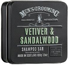 """Voňavky, Parfémy, kozmetika Šampón na vlasy """"Vetiver a santalové drevo"""" - Scottish Fine Soaps Mens Grooming Vetiver & Sandalwood Shampoo Bar"""