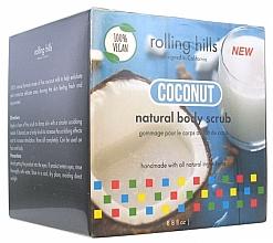 """Voňavky, Parfémy, kozmetika Scrub na telo """"Kokosové mlieko"""" - Rolling Hills Gommage Corps Naturel"""