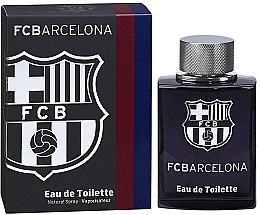 Voňavky, Parfémy, kozmetika Air-Val International FC Barcelona Black - Toaletná voda
