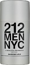 Voňavky, Parfémy, kozmetika Carolina Herrera 212 For Man NYC - Deodorantová tyčinka