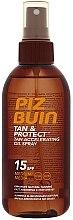 Voňavky, Parfémy, kozmetika Ochranný olej pre rýchle opaľovanie - Piz Buin Tan&Protect Tan Accelerating Oil Spray SPF15