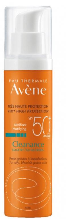 Opaľovací krém pre mastnú pokožku - Avene Solaires Cleanance Sun Care SPF 50+ — Obrázky N2