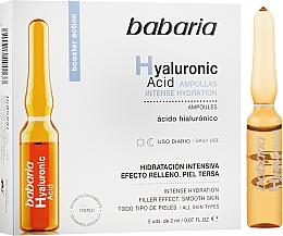 Voňavky, Parfémy, kozmetika Ampulka s kyselinou hyalurónovou - Babaria Hyaluronic Acid Ampoule