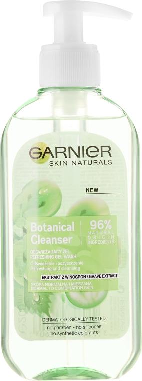 Osviežujúci gél na umyvanie s extraktom hrozna - Garnier Skin Naturals Botanical Grape Extract Refreshing Gel Wash