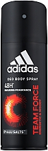 Voňavky, Parfémy, kozmetika Adidas Team Force - Dezodorant