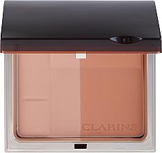 Voňavky, Parfémy, kozmetika Minerálny kompaktný bronzujúci púder - Clarins Bronzing Duo Mineral Powder Compact SPF 15