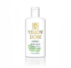 Voňavky, Parfémy, kozmetika Mlieko na telo - Yellow Rose Herbal Body Milk