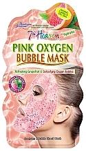 """Voňavky, Parfémy, kozmetika Bublinková maska na tvár """"Ružová"""" - 7th Heaven Pink Oxygen Bubble Mask"""
