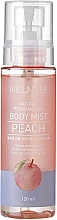 """Voňavky, Parfémy, kozmetika Mušt na telo """"Broskyňa"""" - Welcos Around Me Natural Perfume Vita Body Mist Peach"""