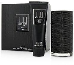 Voňavky, Parfémy, kozmetika Alfred Dunhill Icon Elite - Sada (edp/100ml + sh/gel/90ml)