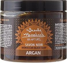 Voňavky, Parfémy, kozmetika Prírodné čierne mydlo - Beaute Marrakech Argan Soap Natural