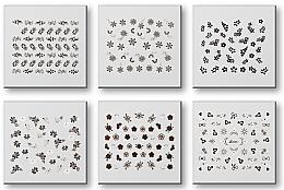 Voňavky, Parfémy, kozmetika Sada nálepiek na nechty 42935 - Top Choice Nail Decorations Stickers Set