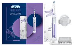 Voňavky, Parfémy, kozmetika Elektrická zubná kefka - Oral B Genius 10000N Special Edition Orchid Purple