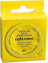 """Voňavky, Parfémy, kozmetika Expres-maska na tvár """"Okamžitý lifting"""" s extraktom z papaji - Cafe Mimi Modeling Facial Express-Mask"""