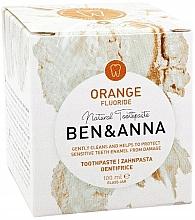 Voňavky, Parfémy, kozmetika Prírodná zubná pasta - Ben & Anna Orange Fluoride Toothpaste