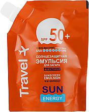 Voňavky, Parfémy, kozmetika Vodotesná emulzia na opaľovanie s ochranou pred slnkom SPF 50 + - Sun Energy Waterproof Sunscreen Emulsion SPF 50 + (doy pack)
