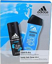 Voňavky, Parfémy, kozmetika Sada - Adidas After Sport (deo/150ml + sh/gel/250ml)