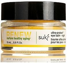 Voňavky, Parfémy, kozmetika Balzam na pokožku okolo očí, nočný - Suki Renew Ultra-Protect Eye Balm Night