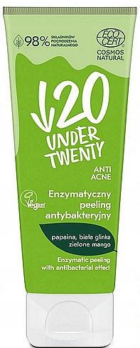 Antibakteriálny enzymový peeling - Under Twenty Anti Acne Antibacterial Enzymatic Peeling